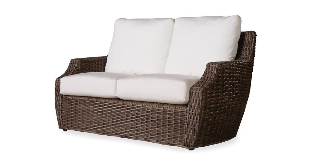 Lloyd Flanders Largo Wicker Loveseat Replacement Cushion Lloyd Flanders Largo Lloyd