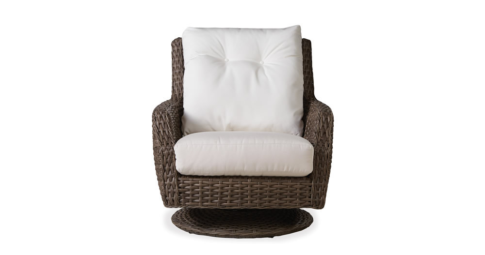 lloyd flanders largo highback wicker swivel rocker