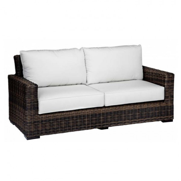 Sunset West Montecito Wicker Loveseat Replacement Cushion