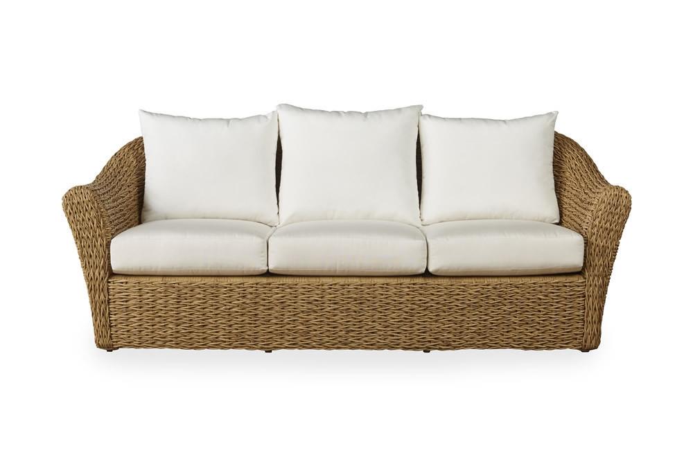 Lloyd Flanders Cayman Wicker Sofa   Replacement Cushion