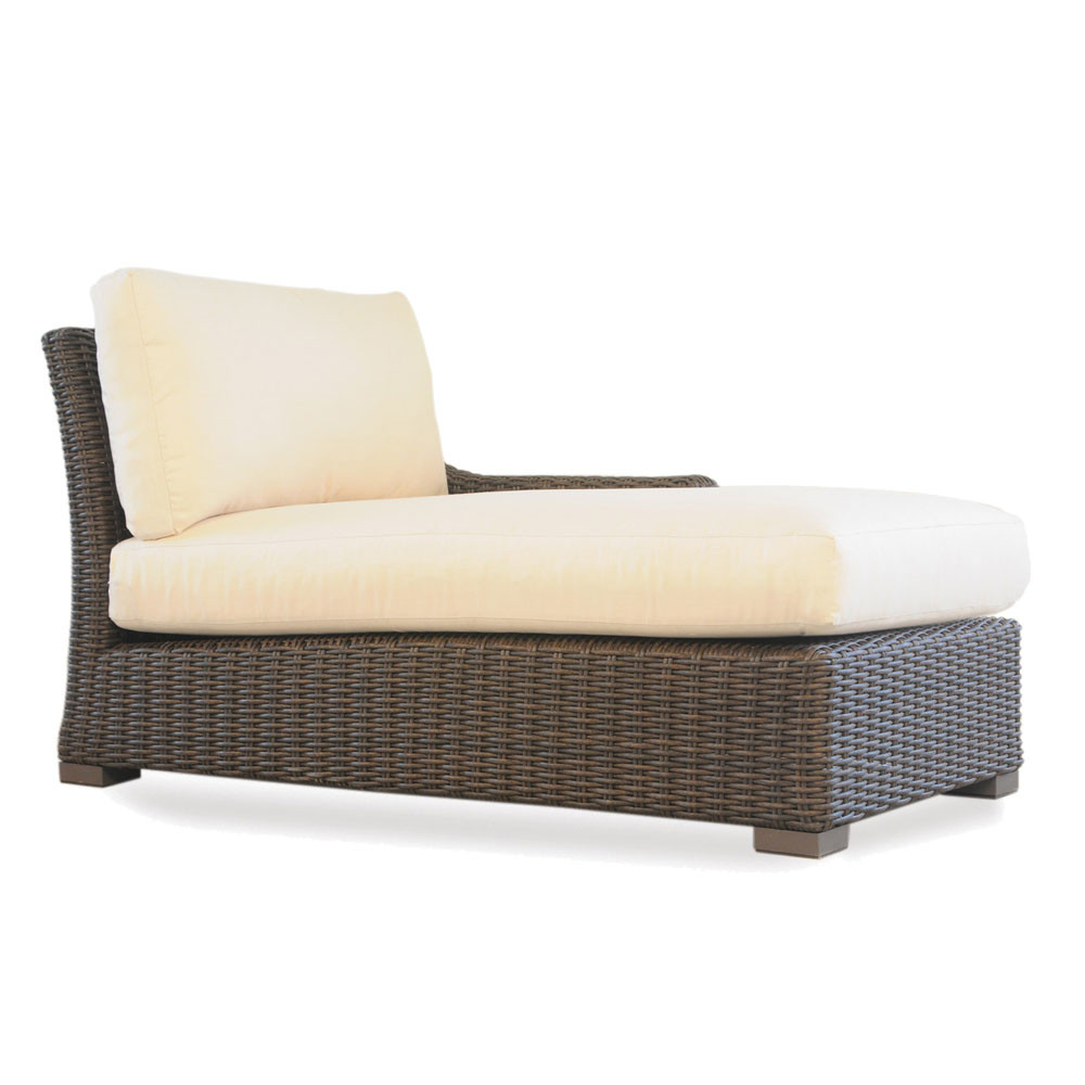 Lloyd Flanders Mesa Left Arm Facing Chaise Lounge Replacement Cushion Wicker