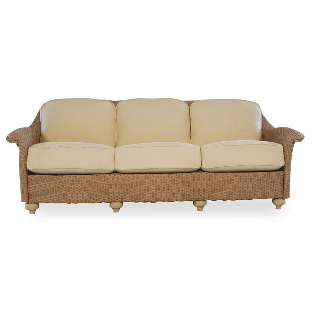 Wicker Sofa Replacement Cushions Lloyd Flanders Oxford Wicker Sofa Replacement Cushion Thesofa