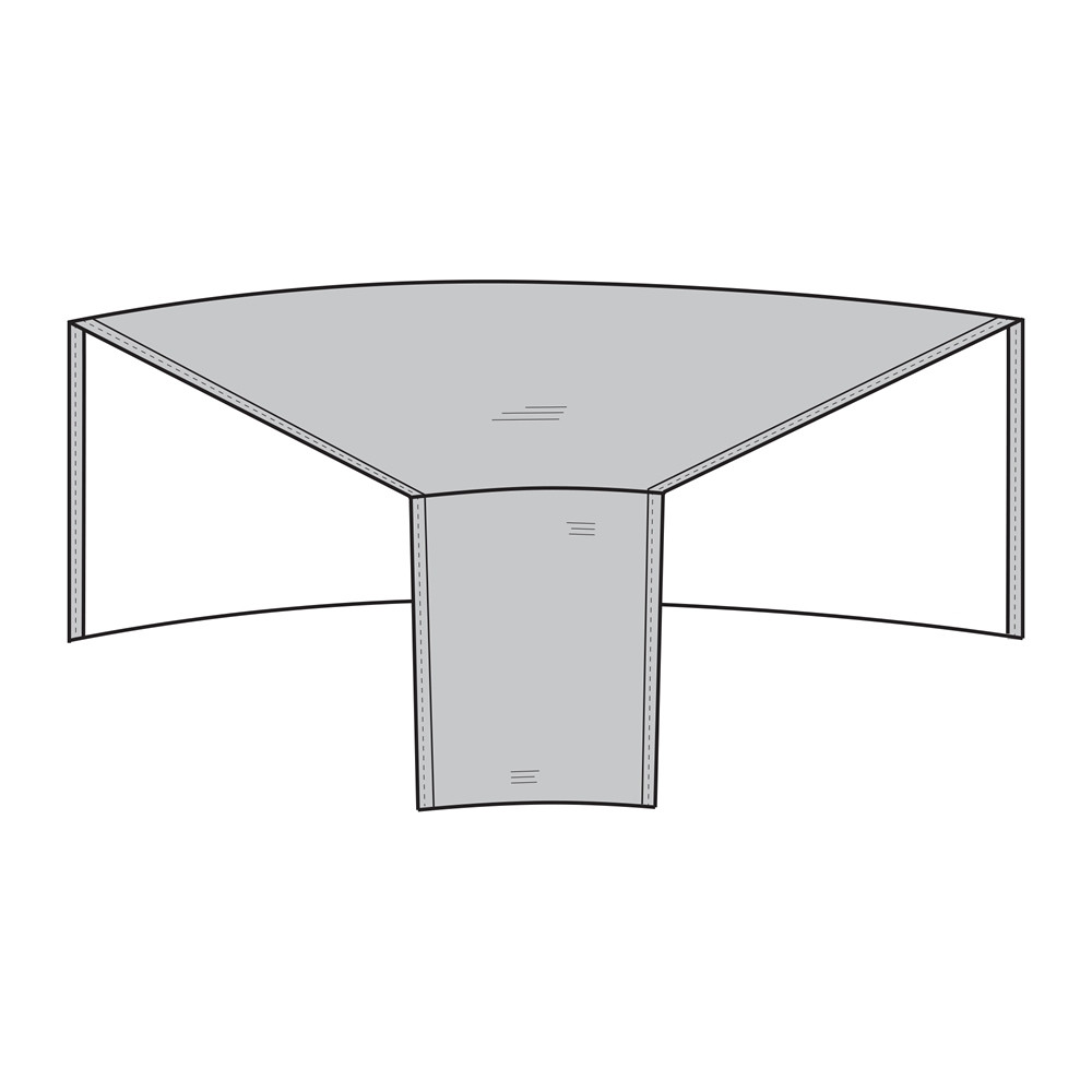 Pci 45 Degree Sectional Corner Chair Outdoor Furniture Cover