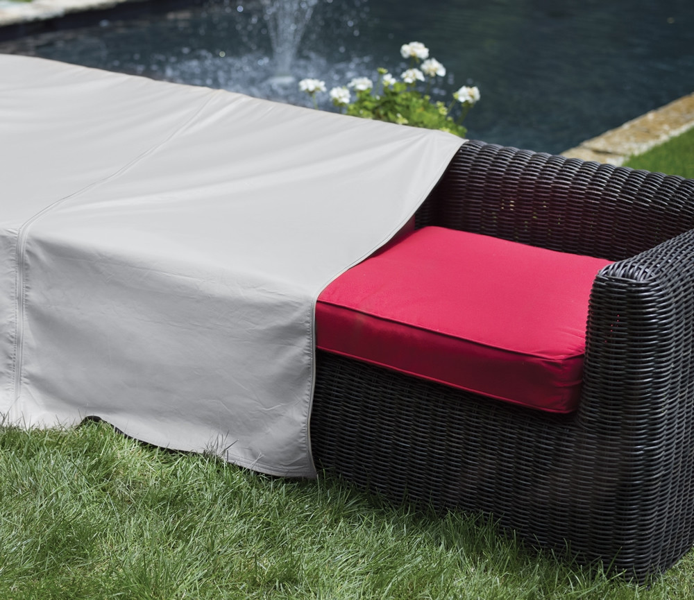Pci armless sectional chair outdoor furniture cover for Pci outdoor furniture covers