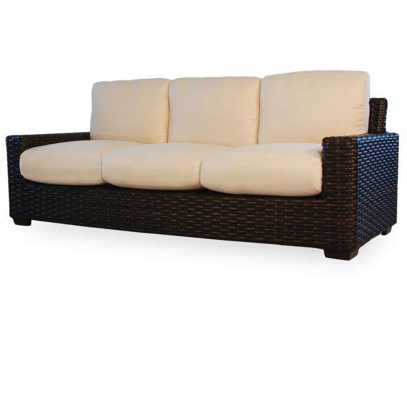Lloyd flanders contempo wicker sofa replacement cushion - Contempo wicker outdoor furniture ...