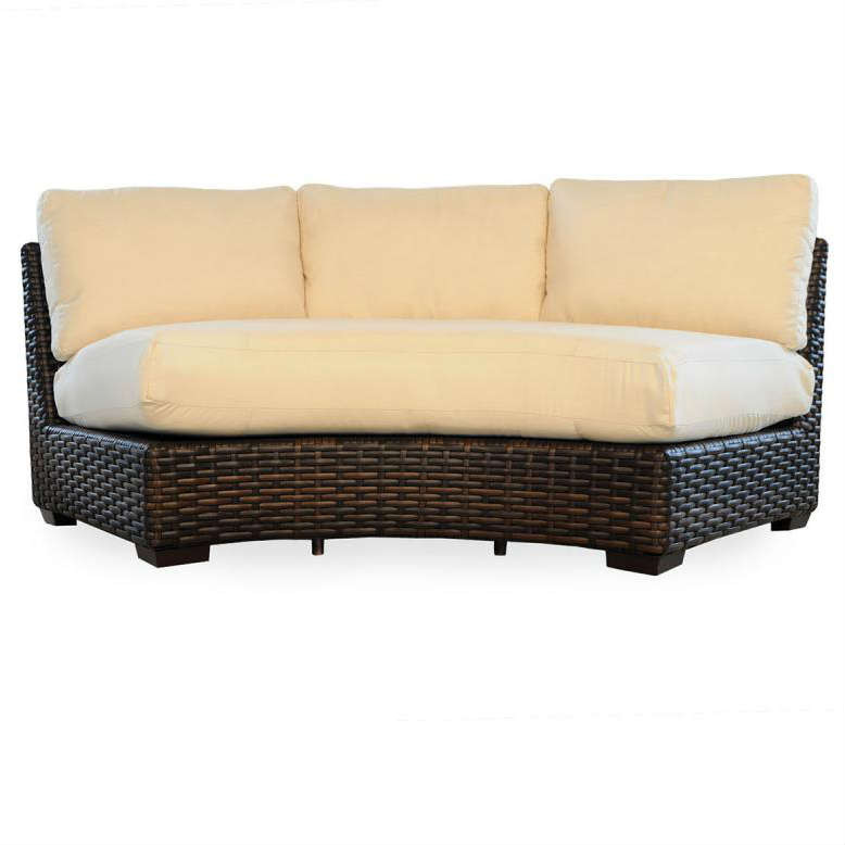 Lloyd Flanders Contempo Curved Sectional Sofa