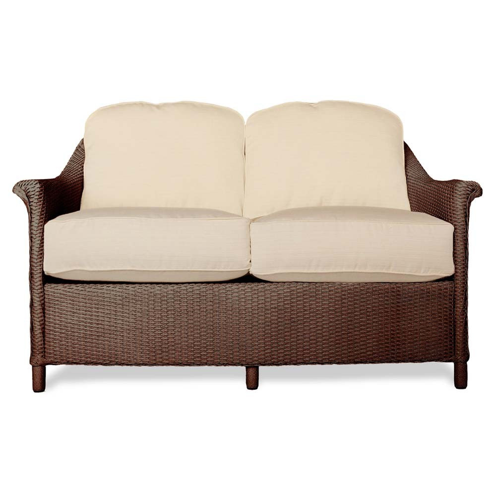 Lloyd Flanders Crofton Wicker Loveseat Replacement Cushion Lloyd Flanders Crofton Lloyd