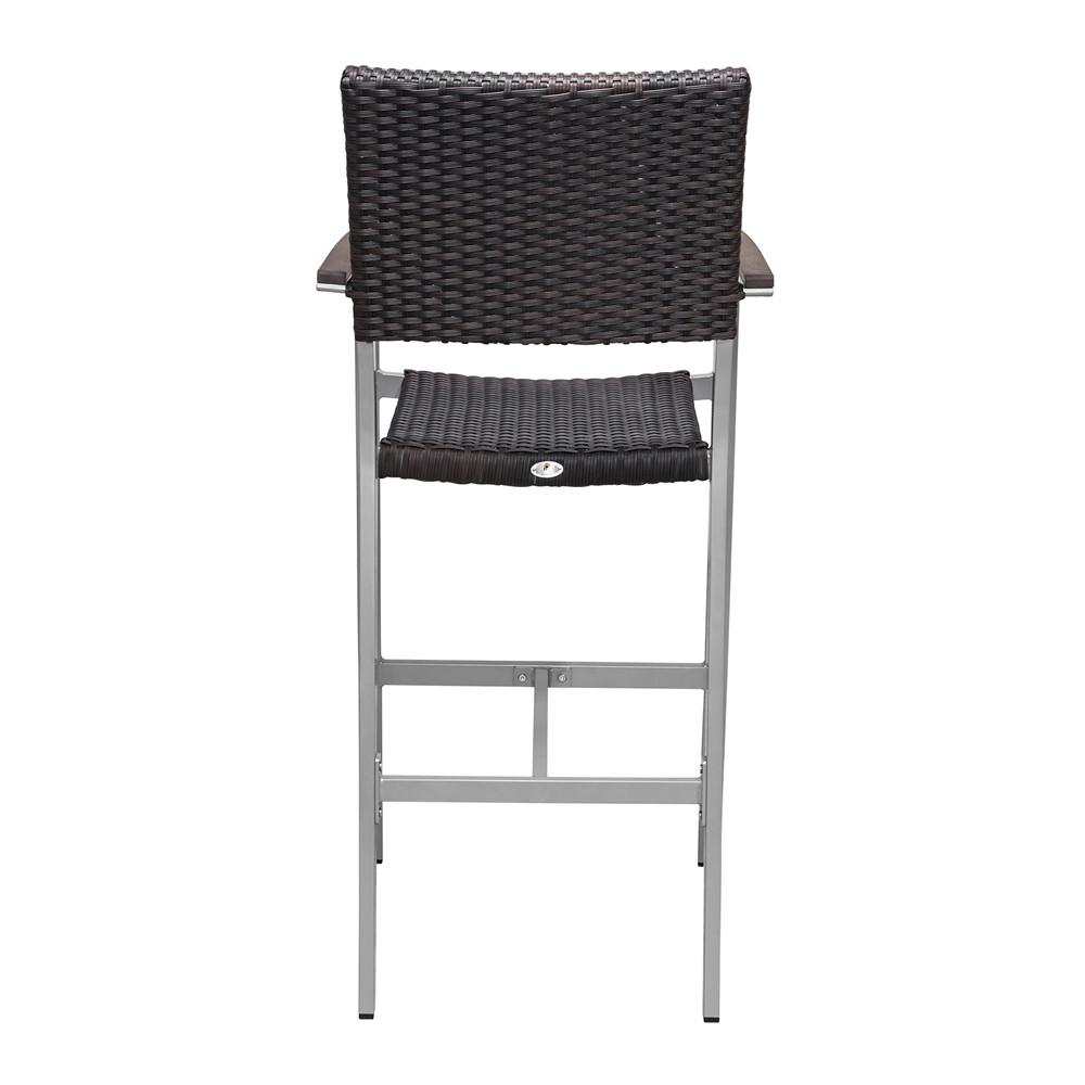 Source Outdoor Fiji Wicker Bar Chair Wicker Bar Stools