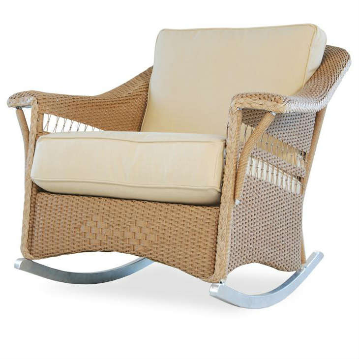 Beau Lloyd Flanders Nantucket Wicker Rocking Chair   Replacement Cushion