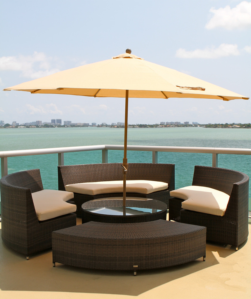 source outdoor furniture. source outdoor circa round backless wicker bench furniture