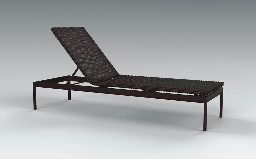 Tropitone cabana club woven chaise lounge wicker chaise for Cabana chaise lounge