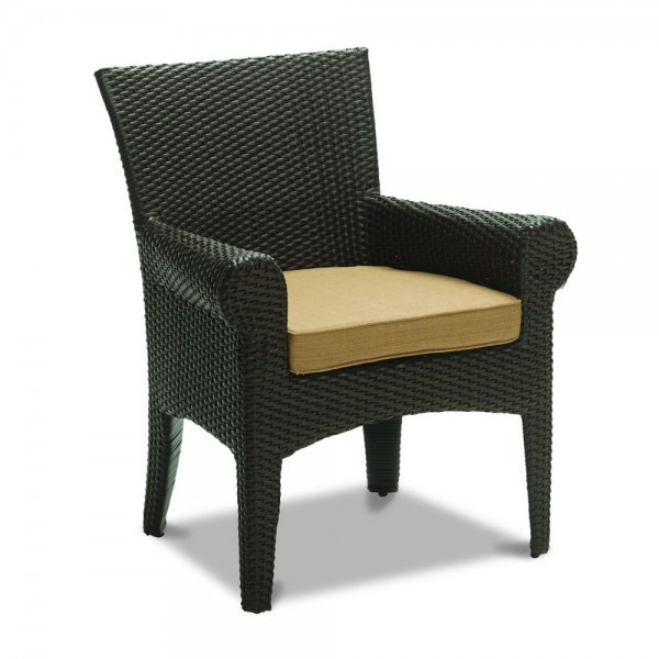 Sunset West Santa Barbara Wicker Dining Chair Replacement Cushion Wicker Com
