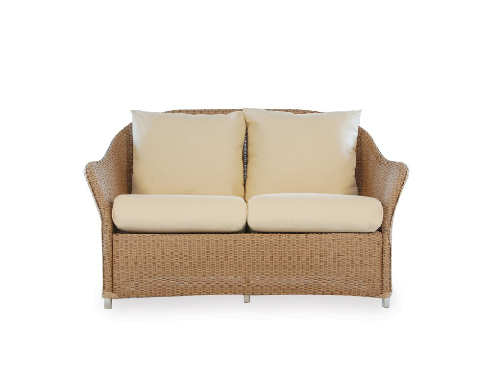 Lloyd Flanders Weekend Retreat Wicker Loveseat Wicker Loveseats Wicker Seating