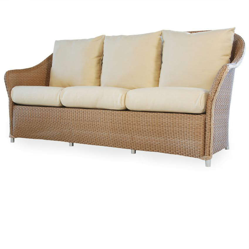 Lloyd Flanders Weekend Retreat Wicker Sofa Replacement Cushion