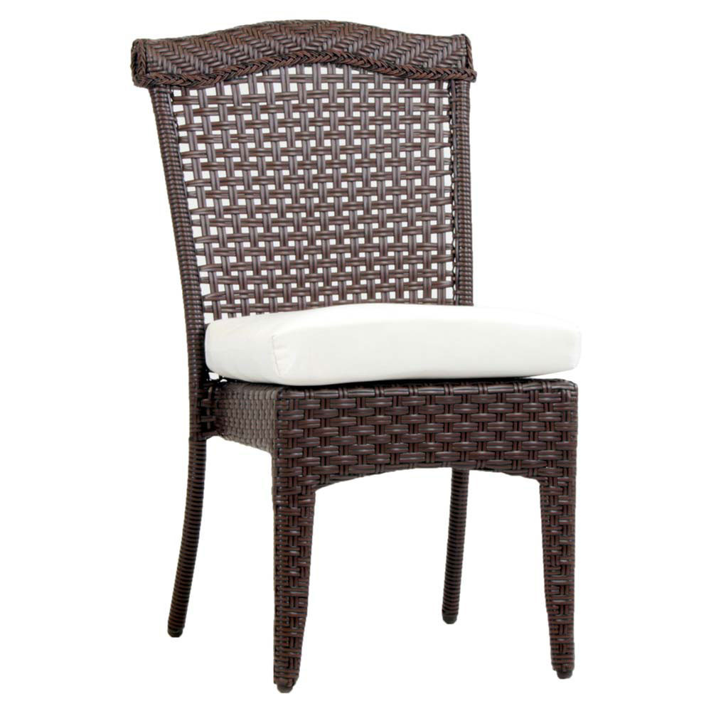 South Sea Rattan Martinique Wicker Dining Chair Wicker Com