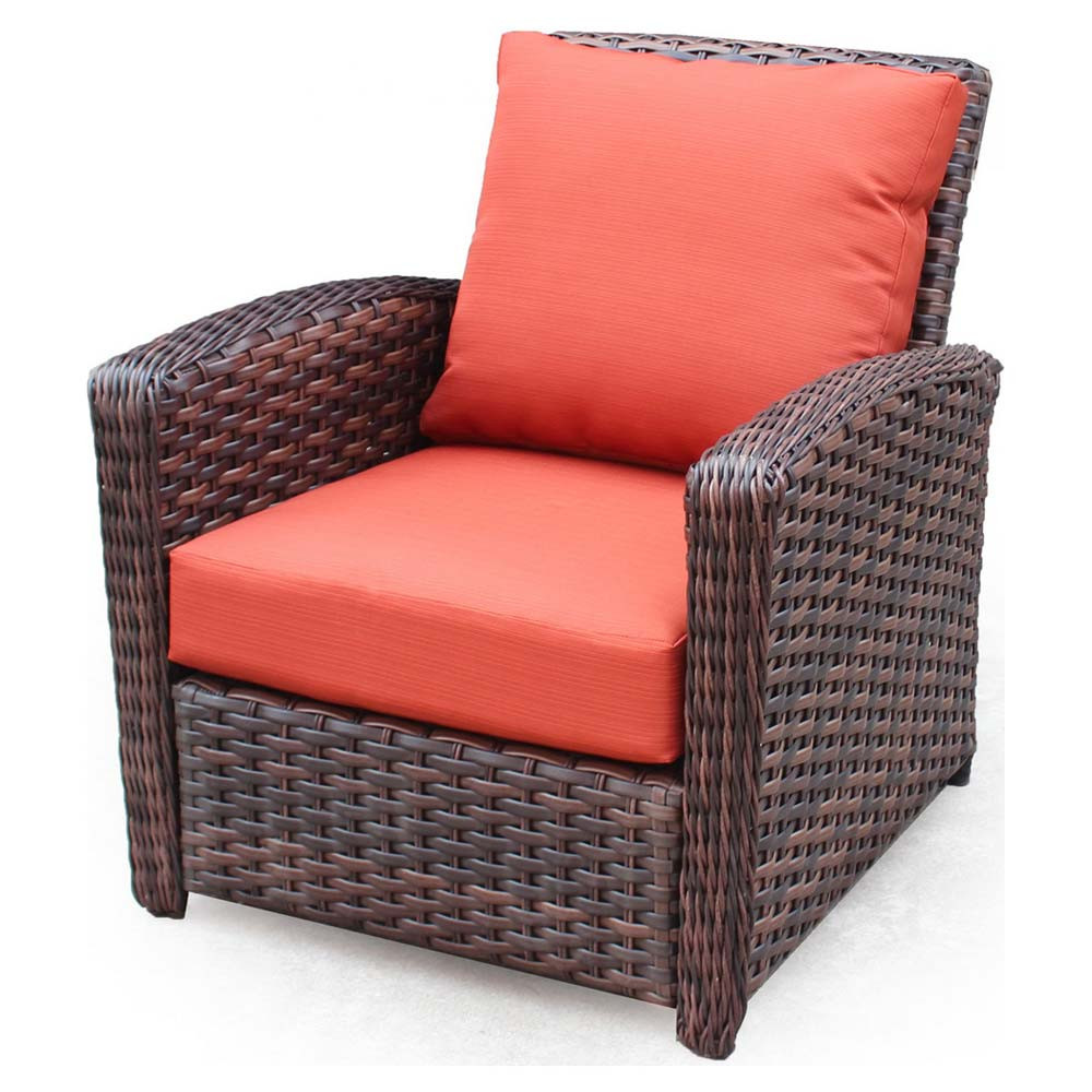 South sea rattan huntington wicker chair for Wicker furniture