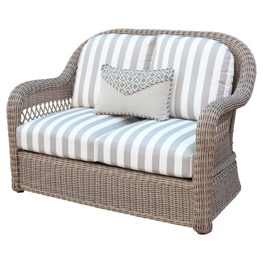 South Sea Rattan Arcadia Wicker Love Seat