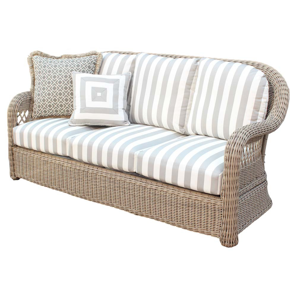 South Sea Rattan Arcadia Wicker Sofa - Wicker.com