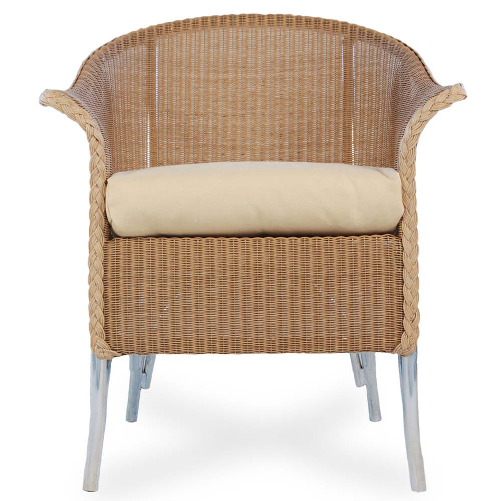 Lloyd Flanders Wicker Dining Chair Short Skirt Replacement Cushion Lloy