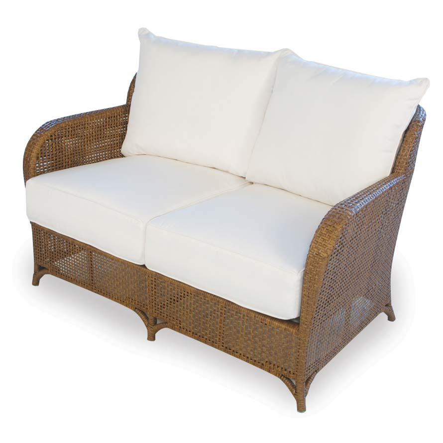 Lloyd Flanders Carmel Wicker Loveseat Replacement Cushion