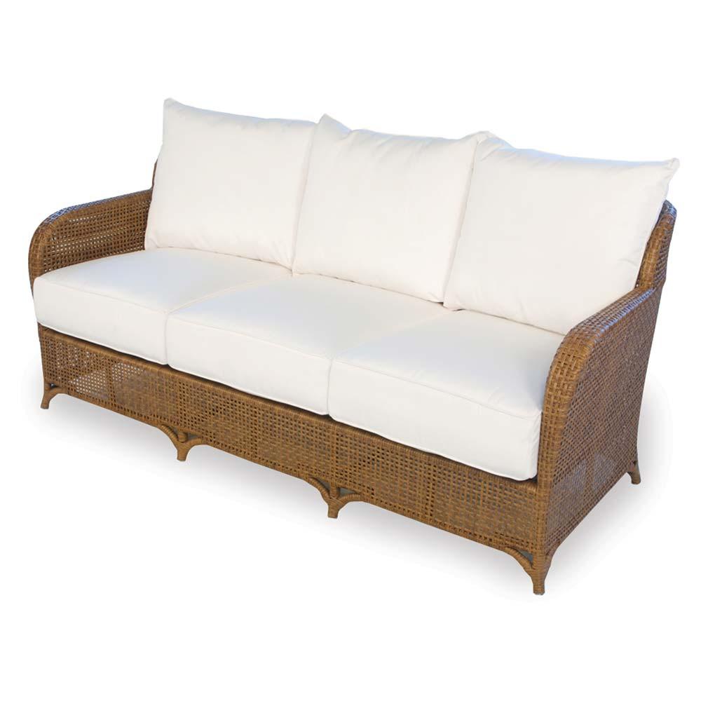 Lloyd Flanders Carmel Wicker Sofa Replacement Cushion