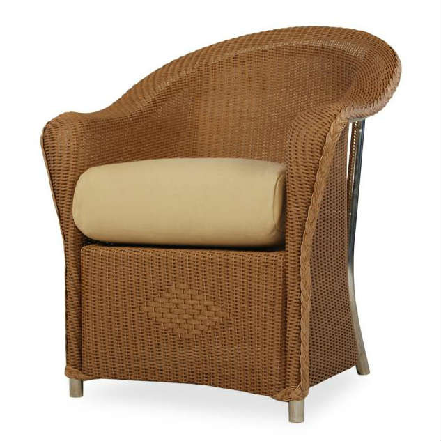 Lloyd Flanders Reflections Wicker Dining Chair Wicker Com