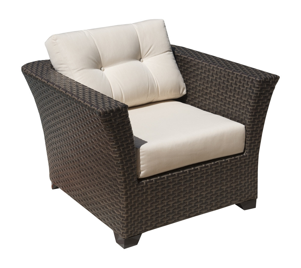 Hospitality Rattan Fiji Wicker Lounge Chair