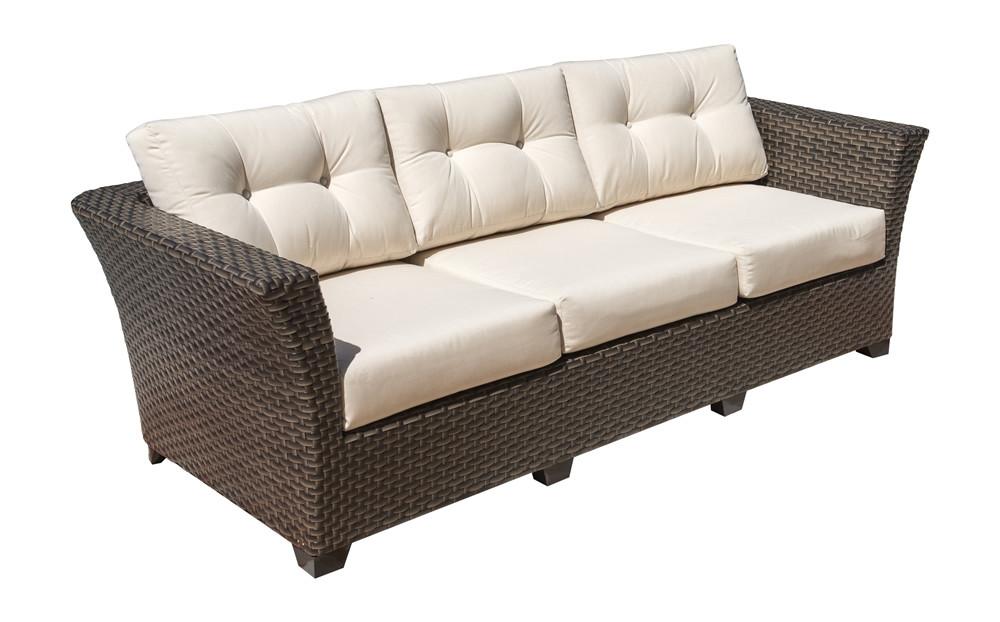 Hospitality Rattan Fiji Wicker Sofa