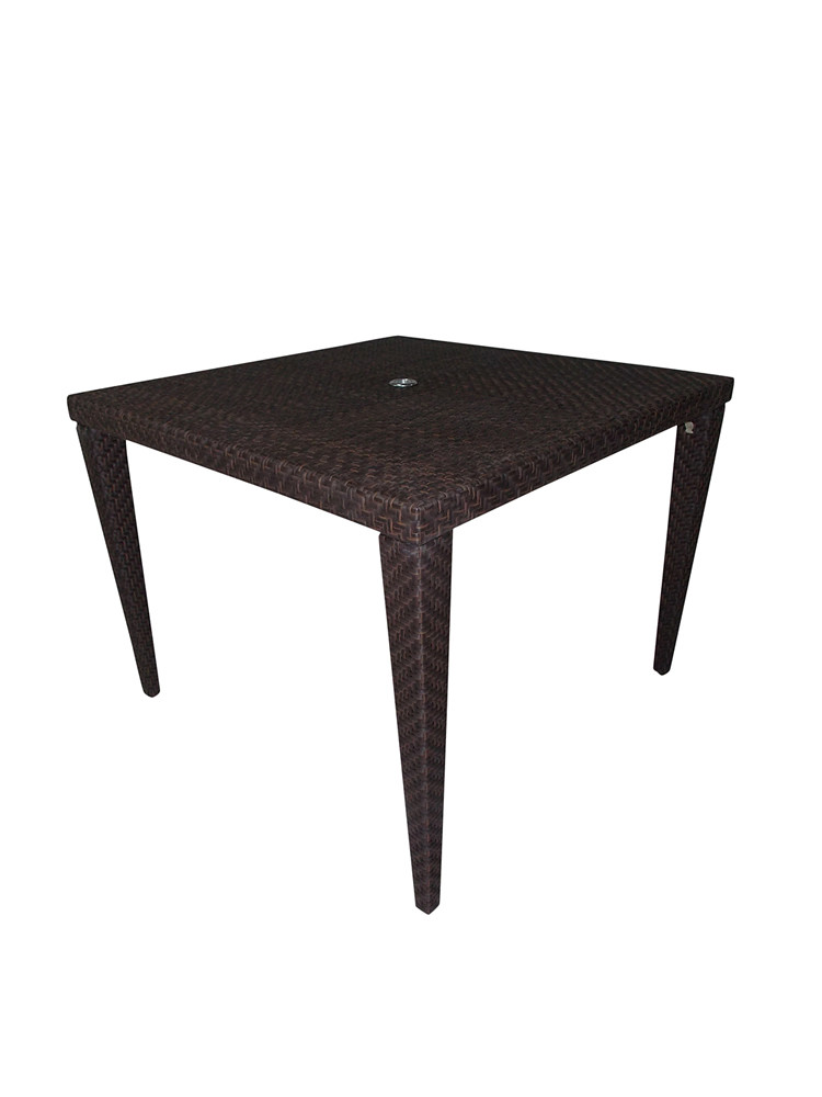 hospitality rattan soho wicker 40 dining table. Black Bedroom Furniture Sets. Home Design Ideas
