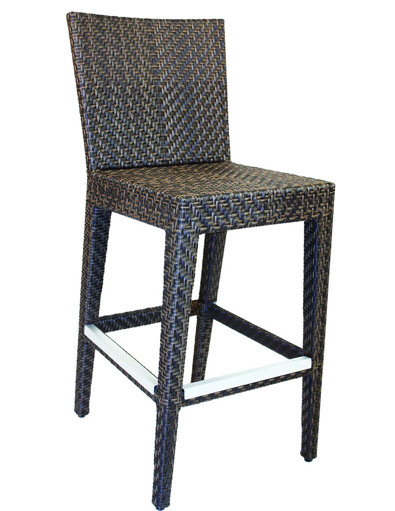 Hospitality Rattan Soho Wicker Bar Chair  sc 1 th 255 & Hospitality Rattan Soho 30