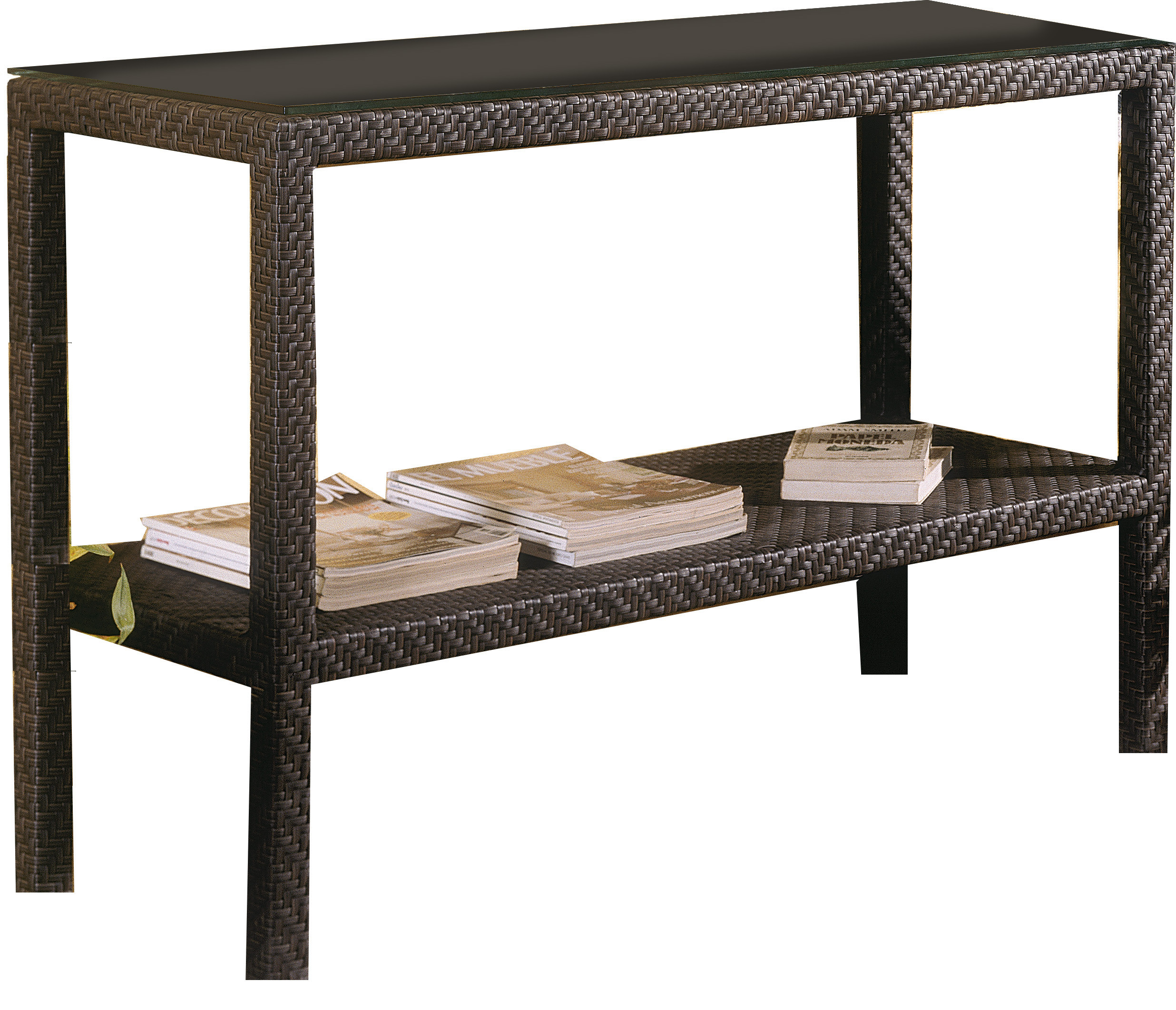 surprising Outdoor Console Buffet Table Part - 6: Hospitality Rattan Soho Wicker Console Table