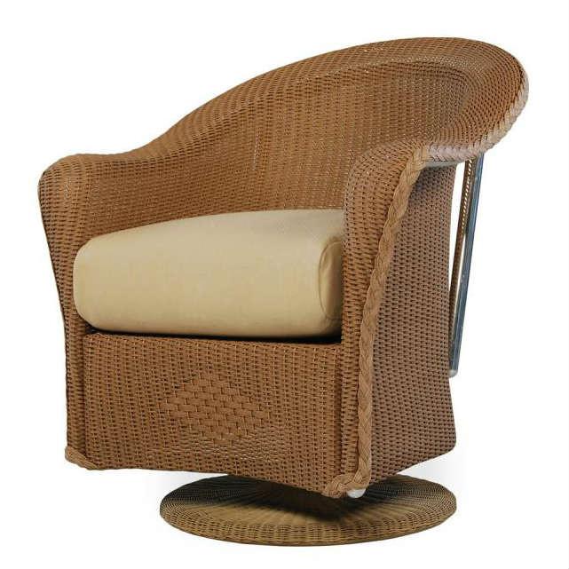 Lloyd Flanders Reflections Wicker Swivel Dining Chair  : 90714 from www.wickercentral.com size 641 x 641 jpeg 81kB