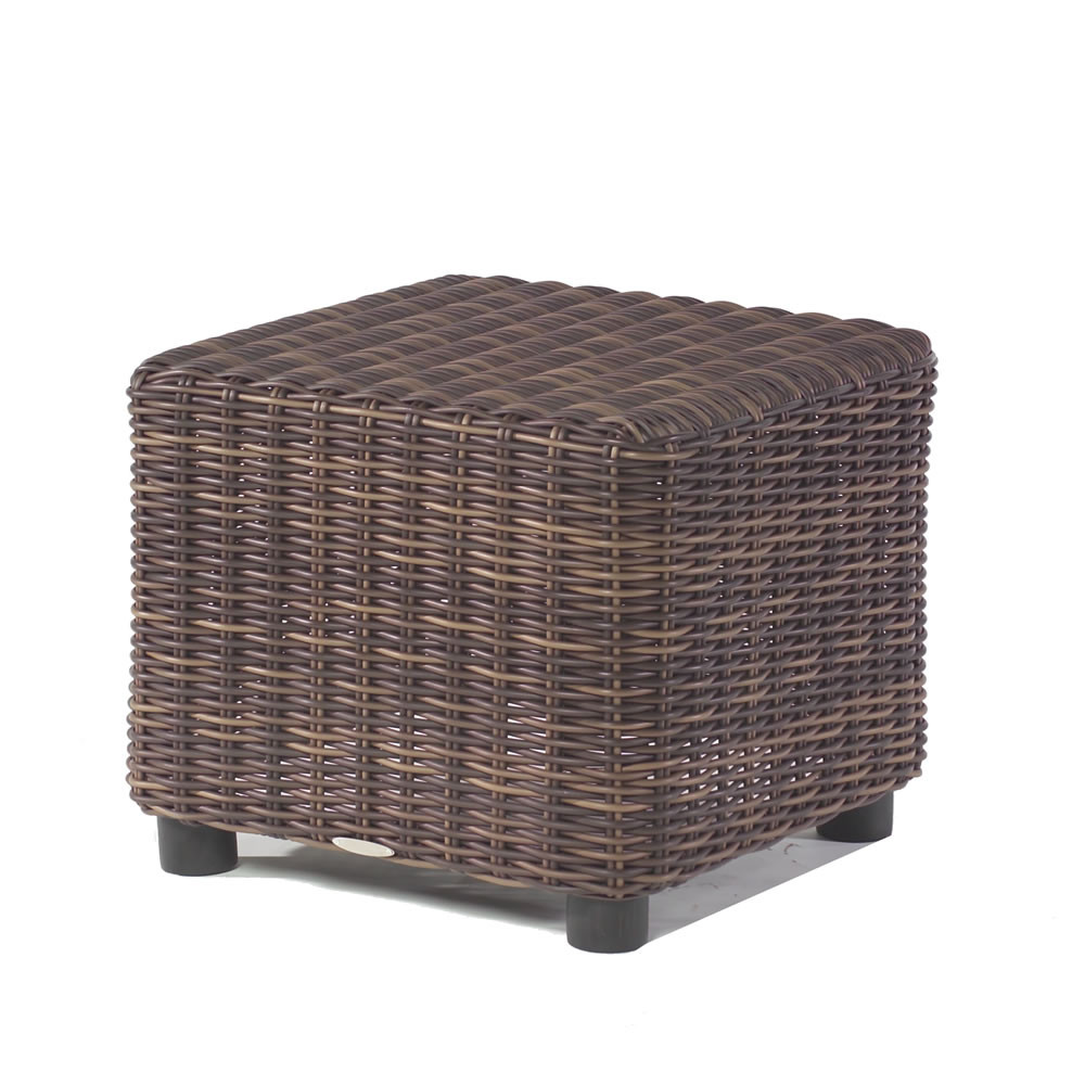 WhiteCraft By Woodard Sonoma Wicker End Table