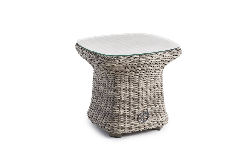 Domus Ventures Annecy Wicker End Table - Domus Ventures Annecy Wicker End Table - Wicker End Tables - Wicker