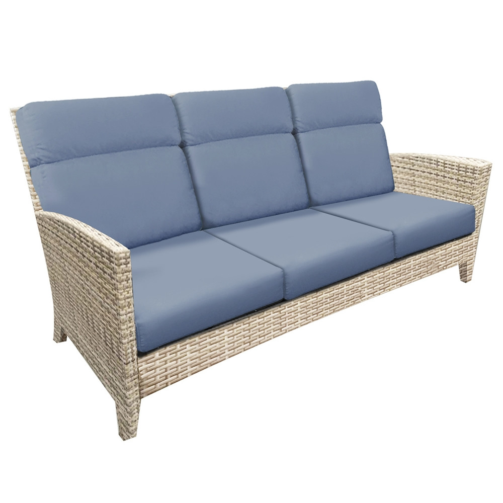 Forever Patio Cavalier Wicker Sofa Replacement Cushion