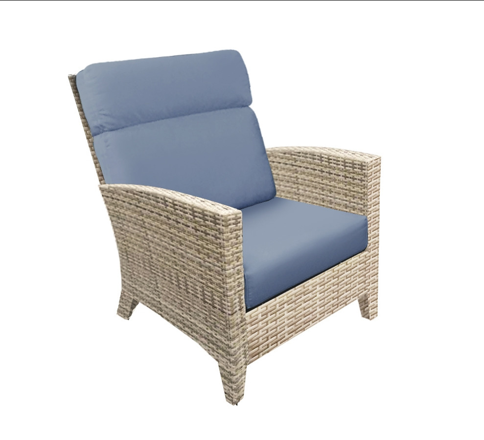 Forever Patio Cavalier Wicker Lounge Chair Replacement