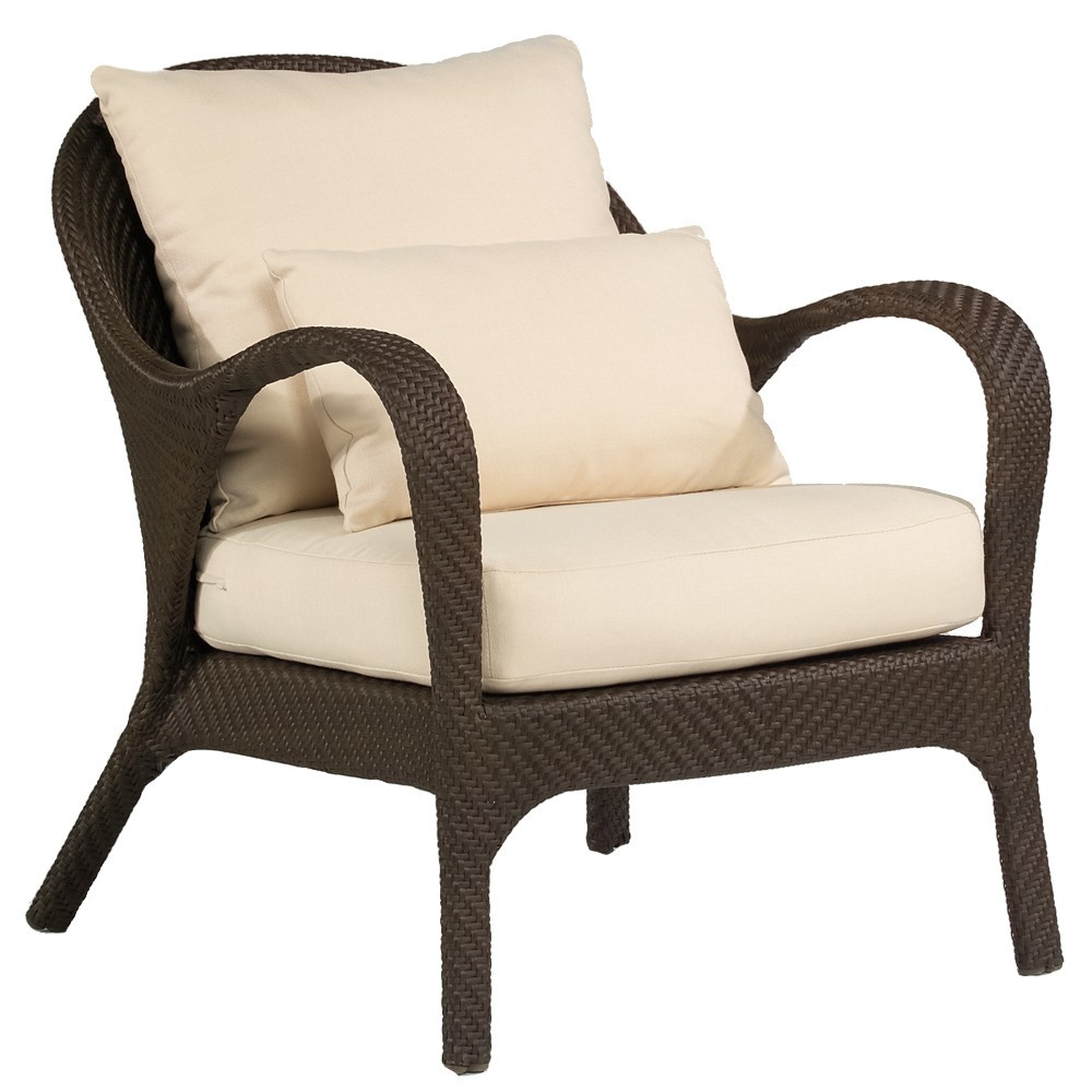 Wicker Chair With Cushion Wicker Chair