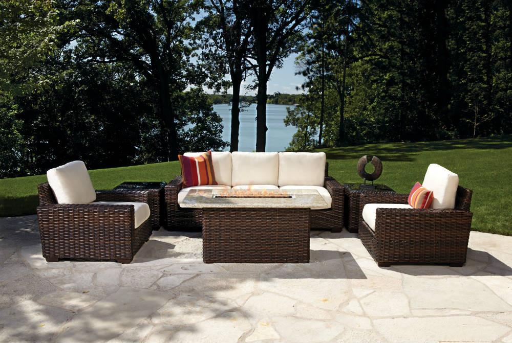 Lloyd flanders contempo wicker 22 cube table - Contempo wicker outdoor furniture ...