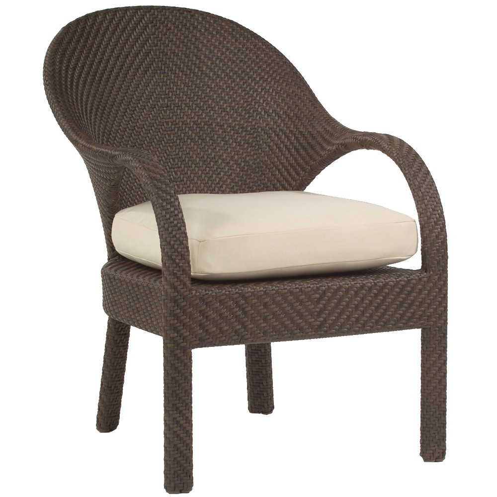 Replacement Cushion Whitecraft By Woodard Bali Wicker Dining Chair