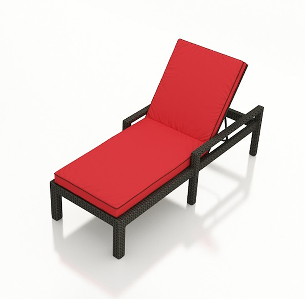 Forever patio barbados wicker adjustable chaise lounge for Agio international barbados chaise lounge