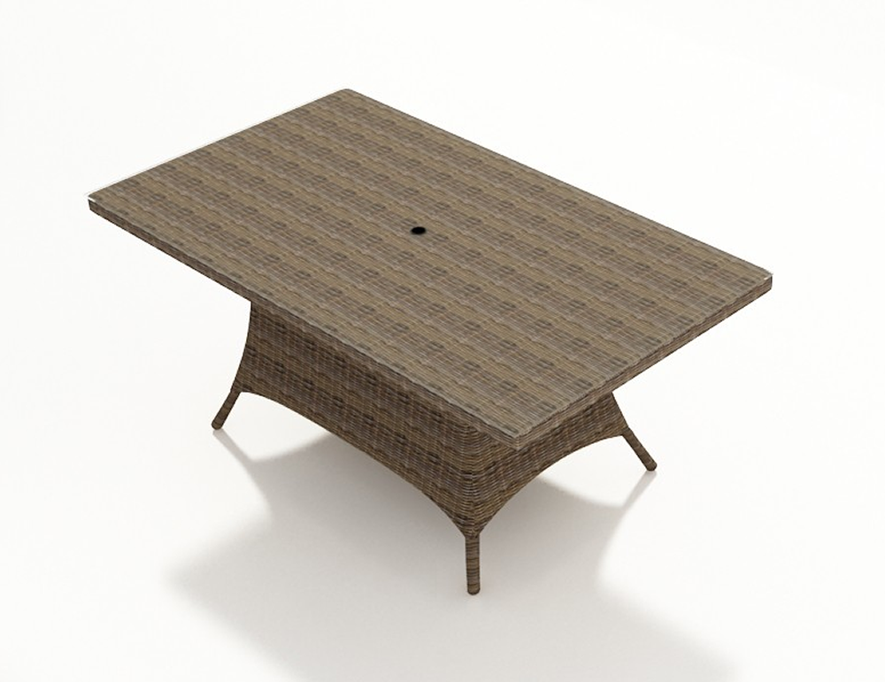 Forever Patio Cypress Wicker 42 Quot X 72 Quot Rectangular Dining