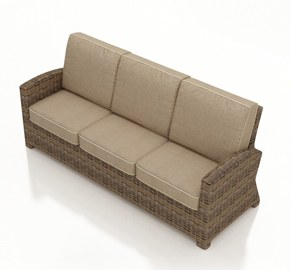 Rattan Sofa Cushions Replacements: Forever Patio Cypress Wicker Sofa