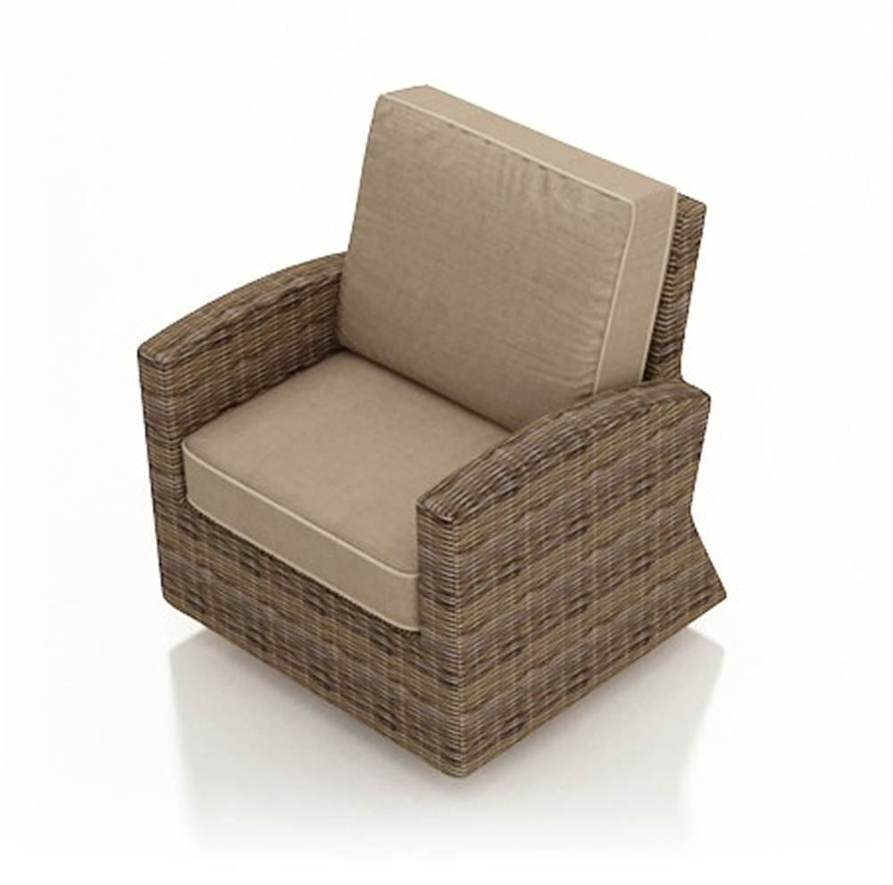 Forever patio cypress wicker swivel glider club chair wicker com