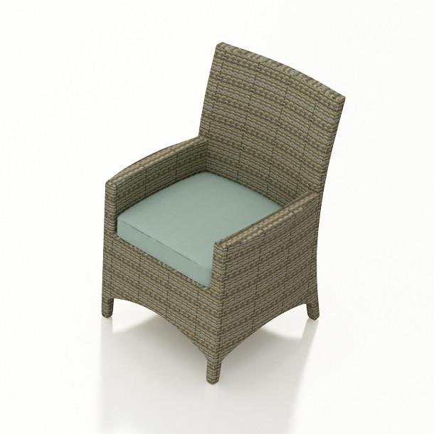 Forever Patio Hampton Wicker Dining Arm Chair Wicker Com