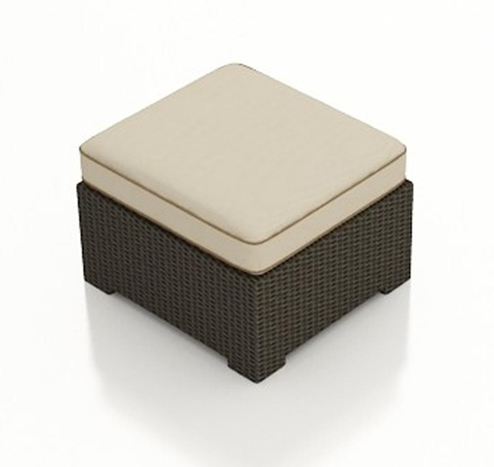Forever Patio Hampton Wicker Ottoman Replacement Cushion