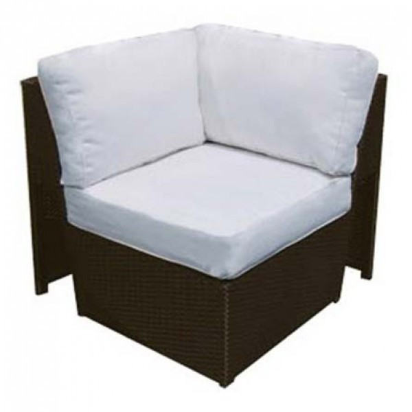 Forever Patio Soho Wicker Sectional Corner Chair Replacement Cushion
