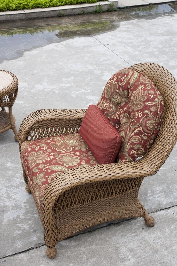 Longboat Key Casa Del Mar Wicker Chair Wicker Com