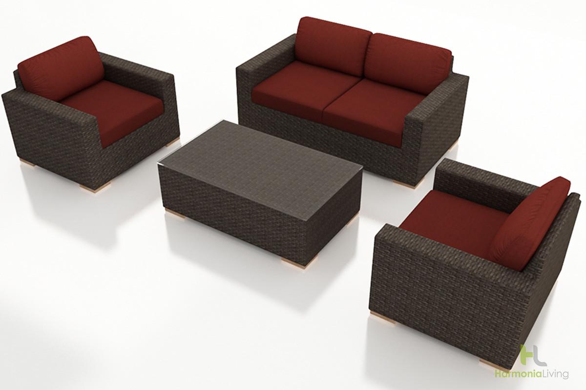 Rattan gartenmbel set simple black poly rattan lounge set for Gunstige lounge sets