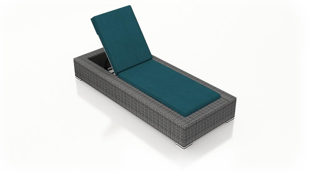 Armless Wicker District Lounge Living Chaise Harmonia VGqMSpjLzU
