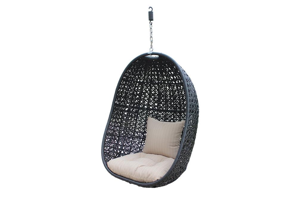 Superbe Harmonia Living Nimbus Wicker Hanging Chair